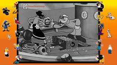 Marinheiro Popeye em: Mergulhadores Tontos (1935) #025