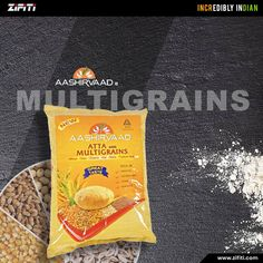 Shop for Aashirvaad Multigrain Atta in the USA from Zifiti.com. Ashirvaad Atta with Multigrains is an excellent source of vitamins. Aashirvaad Atta Multigrains is an exclusive combination of 6 normal grains providing wholesome nutrition. Multigrain, Vitamins, Snack Recipes, Chips, Nutrition, Grains, Smooth, Usa, Stuff To Buy