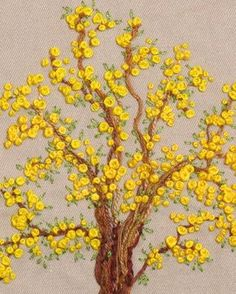 Marvelous Crewel Embroidery Long Short Soft Shading In Colors Ideas. Enchanting Crewel Embroidery Long Short Soft Shading In Colors Ideas. Crewel Embroidery, Silk Ribbon Embroidery, Hand Embroidery Patterns, Cross Stitch Embroidery, Embroidery Supplies, Embroidery Thread, Beginner Embroidery, Flower Embroidery, Embroidered Flowers