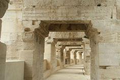 Arles, Roman Amphitheatre, France circa 50 AD