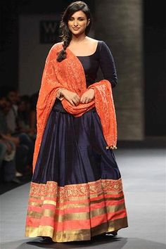 Parineeti in Manish Malhotra Spring/Summer 2013