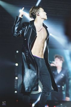 Yeah...that's IKON — bobbyship:   abs and back and all that