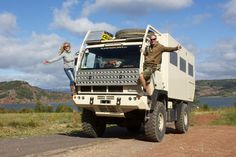 """We Angie & Chris love to explore the Planet with our Overlander """"PlanetExplorer. Steyr, Motorhome, Offroad, Planets, Monster Trucks, Adventure Campers, Military, Vehicles, Earth"""