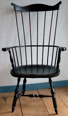 Lancaster County Combback Windsor Arm Chair