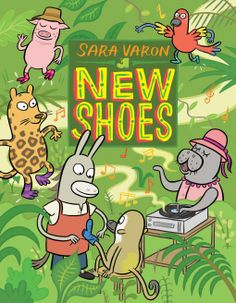 New Shoes by Sara Varon is a fantastic book that explores the ideas of fair trade, business ethics and creative footwear. It also give a little insight into the different types of animals who live …