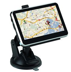 four.three Inch GPS SAT NAV Navigation System Navigator Contact Display Free USA MAP Preloaded Description The automotive GPS navigator adopts MediaTek MT3