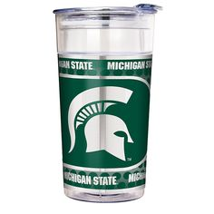 Great American Products NCAA 22 oz. Double Wall Acrylic Party Cup - Michigan State Spartans