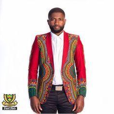 African Men's Style ~African Prints, Ankara, kitenge, African women dresses, African fashion styles, African men's fashion, Nigerian style, Ghanaian fashion ~DKK