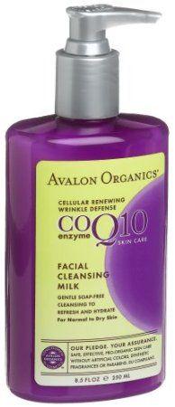 Avalon Organics Facial Cleansing Milk, CO (Pack of Cleansing Milk, Facial Cleansing, Bergamot Essential Oil, Essential Oils, Avalon Organics, Organic Facial, Sunflower Oil, Skin Firming, Dry Skin