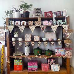 Selección de objetos decorativos en Espacio @horst_design (Calle San Jorge 26)