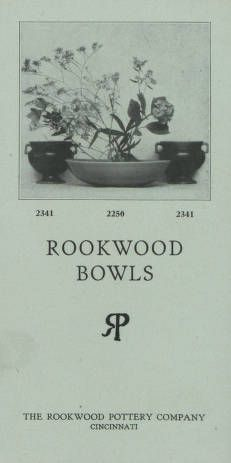 Rookwood bowls/ the Rookwood Pottery Company, 1900. Metropolitan Museum of Art (New York, N.Y.). Thomas J. Watson Library. Trade Catalogs.