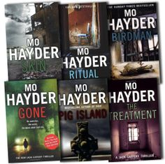 Any book by Mo Hayder -  she is my 'all-time' favourite crime thriller author