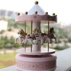 Carousel music box. I always wanted one