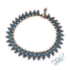 Wisteria Necklace Blue