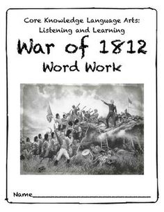 Printables War Of 1812 Worksheet angkor wat khmer empire interactive webquest war and of 1812 core knowledge word work vocabulary packet