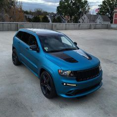 Lagoon Blue Matte Metallic SRT by Illmatic Wraps in North Bergen NJ . Click to view more photos and mod info.
