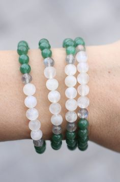 Grade A Moonstone Bracelet With Aaa Labradorite And Green Aventurine Beloved Crystals Healing Crystal Bracelets
