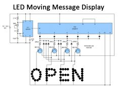 Moving Text, Welcome Quotes, Hardware Components, Light Emitting Diode, Circuit Diagram, Led, Street Signs, Text Messages, Positivity