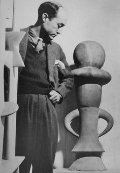 Isamu Noguchi - created many sets for Martha Graham. Close collaboration of artists, choreographer and sculptor.