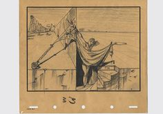 Immersed In Movies: Disney/Dali 'Destino' Art: Lost, Found and Reconstructed Dali Sketch 33
