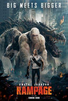 Rampage - new movie poster: https://teaser-trailer.com/movie/rampage/ #Rampage #RampageMovie #MoviePoster #DwayneJohnson