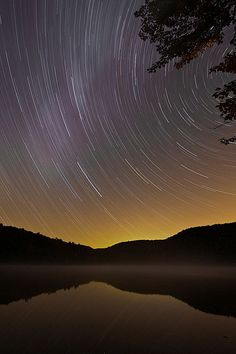 How to photograph star trails; i want to try this some day when i get a nice enough camera