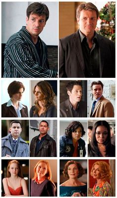 Season 1 to Season 5 How young Nathan and Molly both look in the beginning!!!! Stana and Jon just improve with age.