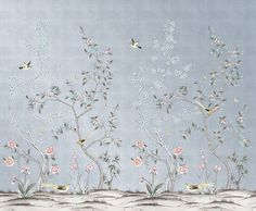 E-Design Reveal: A Girl's Room with Chinoiserie Wallpaper | Little Crown Interiors