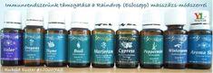 Immunerősítés az esőcsepp technika segítségével, ami terápiás illóolajokat használ Therapeutic Essential Oils, Young Living Oils, Rain Drops, Peppermint, Things To Come, Personal Care, Bottle, Health, Guys