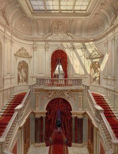House Entrance Staircase Dream Homes Ideas Architecture Baroque, Nature Architecture, Beautiful Architecture, Beautiful Buildings, Interior Architecture, Beautiful Places, Interior Design, Interior Ideas, Palais Des Tuileries