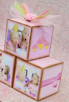 personalized photo blocks did these for the boys....... LOVE THEM