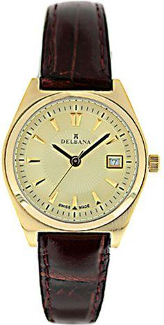 Zegarek damski Delbana 42602.413.1.021 - sklep internetowy www.zegarek.net