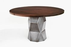 Dining Tables | Harris Rubin Custom Designed Furniture | Metal and Wood Tables, Lamps, Sideboards