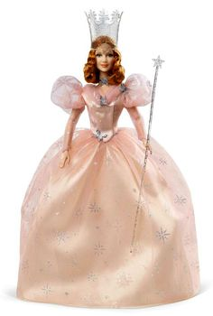 """Glinda, the Good Witch of the North played by Billie Burke from the movie """"The Wizard Of Oz""""."""