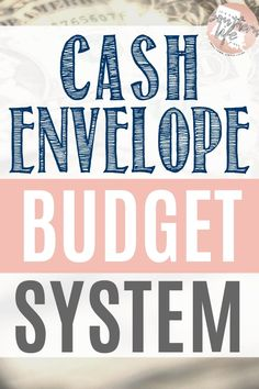 Learn to stop overspending by using cash! The cash envelope budget system is a great way to limit your spending and budget your money. Take control of your finances by learning this easy way to budget. Budgeting System, Budgeting Finances, Budgeting Tips, Envelope Budget System, Cash Envelope System, Budget Envelopes, Cash Envelopes, Financial Budget, Money Budget