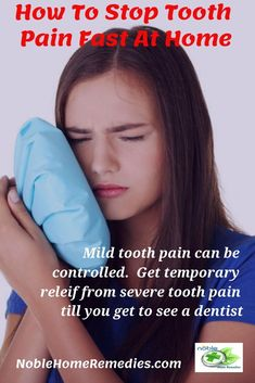 Tooth ache relief is what you get when you try these remedies. Gets you fast relief from tooth ache. #toothache #toothpain #toothacherelief #naturalremedies #homeremedies #toothacherelieffast #toothpainrelief