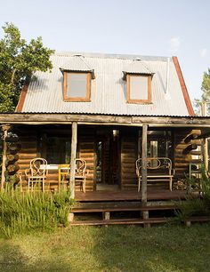 an eco friendly country house in uruguay by the style files, via Flickr