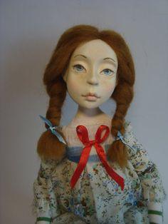 création unique poupée d'art Bergère deco de chambre d'enfant ou adulte : Autres par atelier-lunes