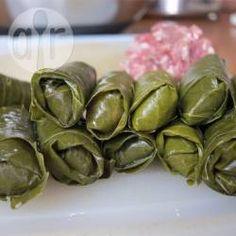 Dieses Rezept für Gefüllte Weinblätter Aleppo stammt aus Syrien @ de.allrecipes.com