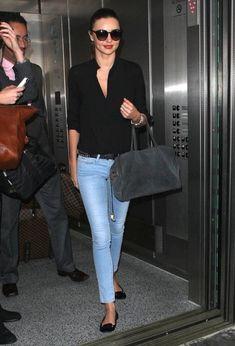 Miranda Kerr Arrives in LA