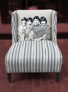 Andrew Martin SGT. Pepper Beatles Chair-Limited Edition