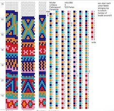 Фотографии Жгуты из бисера схемы – 24 альбома