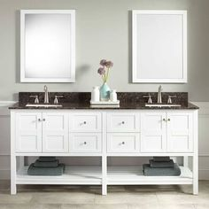 "72"" double rectangular bowl vanity - Google Search"