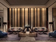 View full picture gallery of Four Seasons Hotel Pudong Lobby Interior, Interior Walls, Luxury Interior, Interior Architecture, Interior Design, Hotel Lobby Design, Hotel Lounge, Lobby Lounge, Lounge Decor