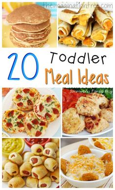 20 healthy and fun toddler meal ideas!