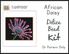 Available choices: - (Pattern only) PDF pattern will be e-mailed to you. ~Please allow me a little time to e-mail the pattern to you. Thanks. ~ - (Kit - Beads only) Comes with delica beads and PDF pattern. - (Kit + Needles & Thread) Comes with delica beads, needles, thread and PDF pattern.  Pattern Details: Even count peyote 15 pages, 4 without wordchart 31 colors Approximately 7.00 x 4.47 inches Clear color graphs Wordchart pattern Beadscape realistic preview image Includes beads needed ...