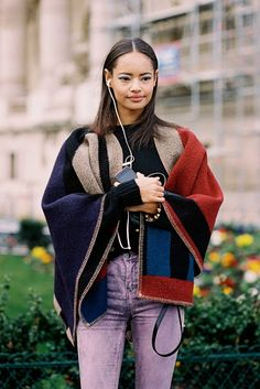 Vanessa Jackman: Paris Fashion Week AW 2014....Malaika