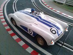 """Mi post en #SlotMéxico sobre el Chevrolet #Corvette Clase C de las 12 Horas de Sebring 1956 de Ninco.<Alt=""""el Chevrolet Corvette Clase C 12 Horas de Sebrind 1956 de Ninco"""">"""