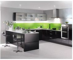 black high gloss flat panel   Kitchen styles   Our galleries   Bright Kitchens Ltd   BT Tradespace