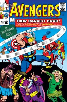 The Avengers (Volume) - Comic Vine #7